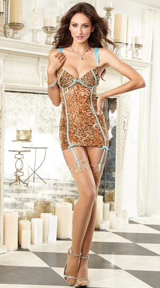 Wild Side Leopard Chemise