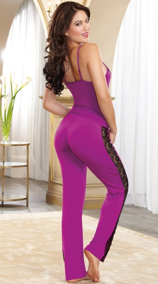 Soft Stretch Sleepwear Cami and Pants