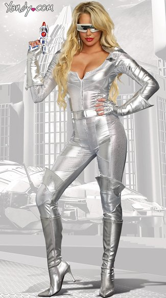 Sexy Space Girl Costume, Space Wars Costume, Sexy Space Costume, Sexy Alien Costume