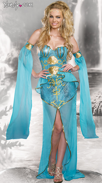 Sexy Sea Goddess Costume