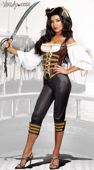 Sea Worthy Pirate Costume