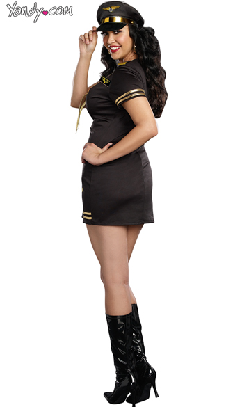 Plus Size Service With A Smile Costume