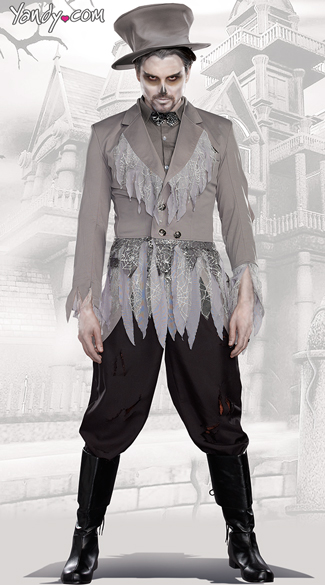 Groom Of Doom Costume, Zombie Groom Costumes, Ghostly Groom Costume