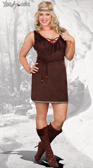Plus Size Native Beauty Costume