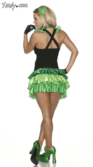 St Pattys Girl Costume