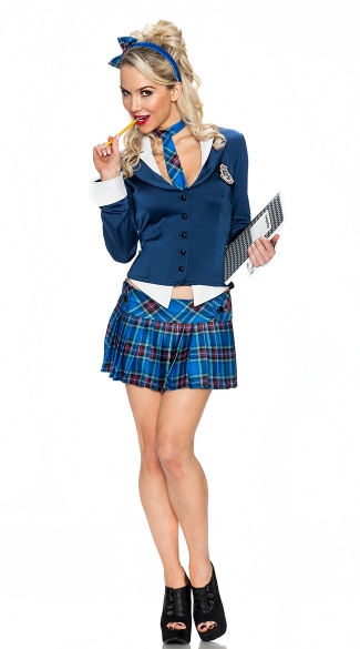 5th Avenue Prep School Girl Costume School Girl Outfit School Girl Adult Costume