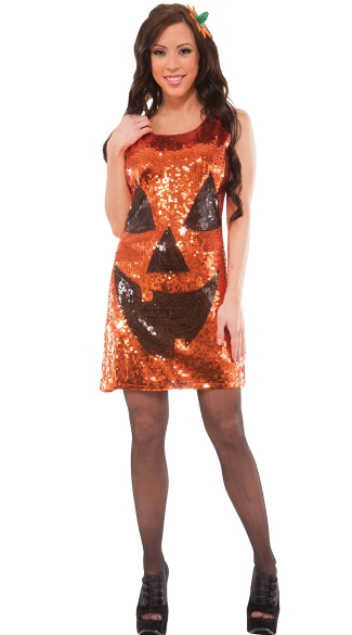 Sequin Pretty Pumpkin Costume