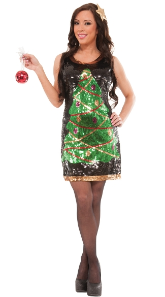 Sequin Holiday Cheer Costume