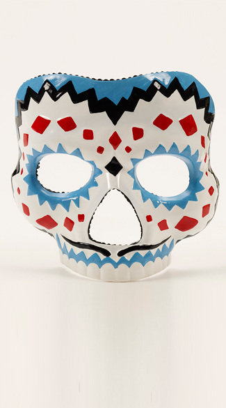 Mr. Skeleton\'s Day Of The Dead Mask