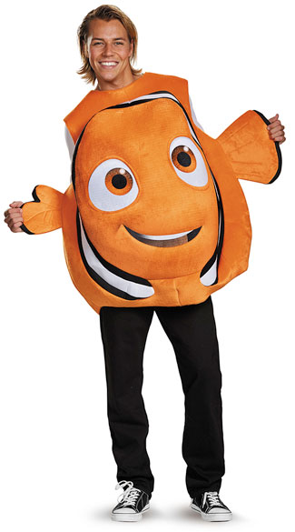 Nemo Pullover Costume, Clown Fish Costume, Finding Nemo Costume
