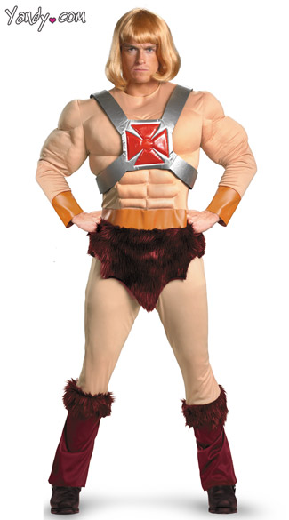 Men\'s He-Man Costume