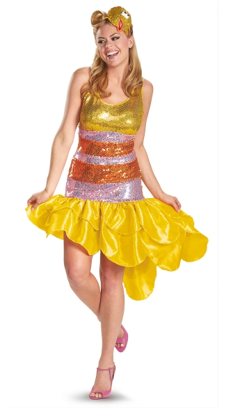 Women\'s Big Bird Costume