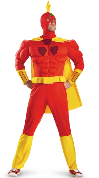Men\'s Radioactive Man Costume, Radioactive Man Halloween Costume