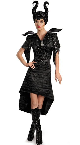 Sexy Maleficent Costume, Womens Maleficent Costume, Maleficent Halloween Costume