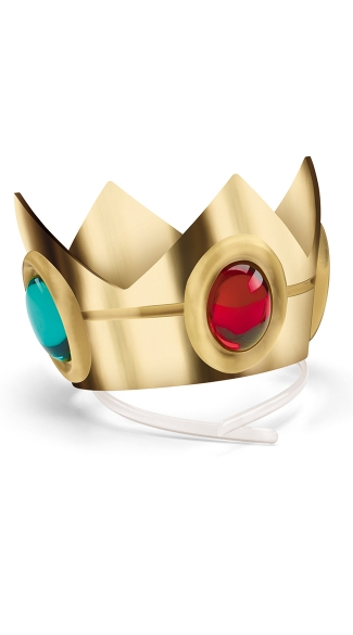 Peachy Princess Crown, Princess Halloween Costumes, Gold Queen Crown