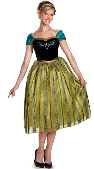 Frozen\'s Princess Anna Coronation Costume