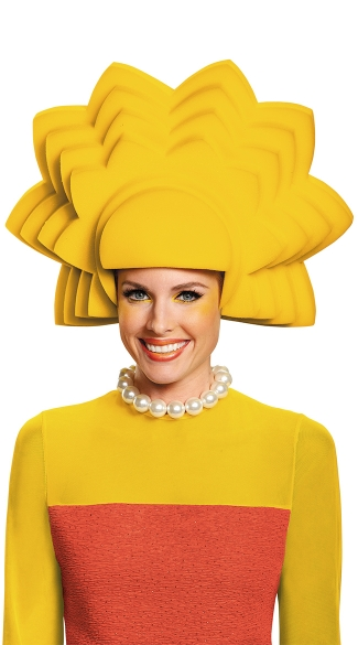 Lisa Simpson Foam Wig, Lisa Simpson Costume, Lisa Simpson Wig