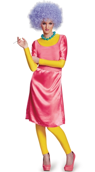 Deluxe Simpson\'s Patty Costume, Patty Deluxe Adult, Simpson\'s Patty Halloween Costume