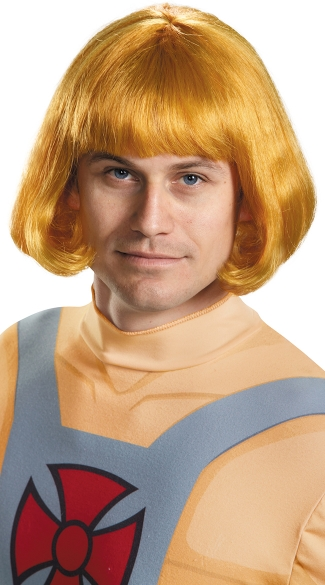 He-Man Wig, Orange Character Wig, Heman Costume Wig