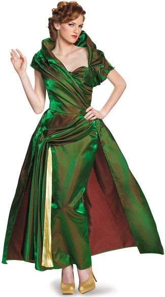 Evil Stepmother Lady Tremaine Costume, Lady Tremaine Movie Adult Prestige, Disney Halloween Adult Costumes, Cinderella Movie Costumes