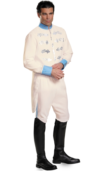 Men\'s Prince Charming Costume, Mens Prince Costume, Cinderella Prince Costume