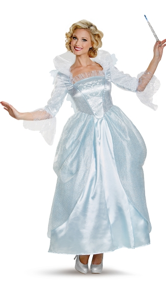 Deluxe Fairy Godmother Costume, Disney Fairy God Mother Costume