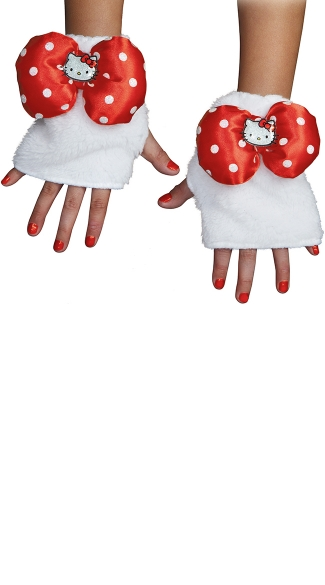 Hello Kitty Glovettes, Hello Kitty Gloves, Character Gloves