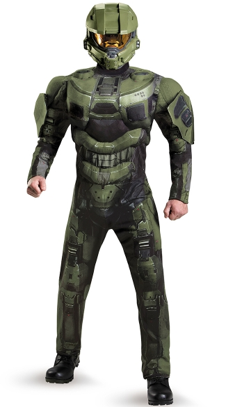 Master Chief Muscle Costume
