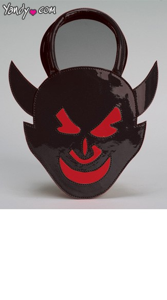 Dark Devil Handbag, Devil Costume Purse