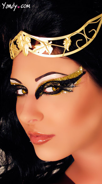 Desire Eye Kit, Cleopatra Costume Eye Make Up, Cleopatra Glitter Eyes