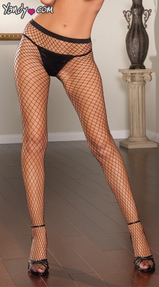 Diamond Fishnet Pantyhose
