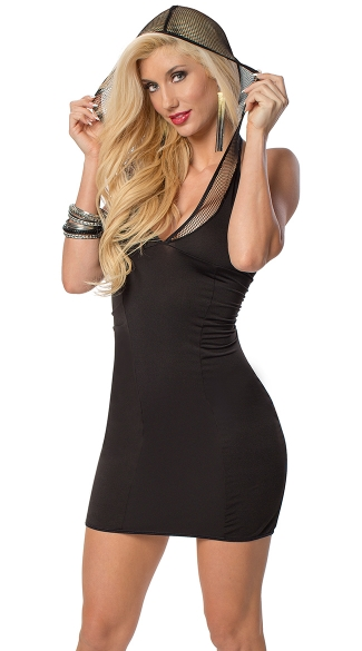 In The Hood Sexy Little Black Dress