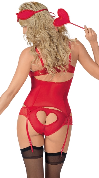 Plus Size Cupid\'s Love War Bustier Play Set