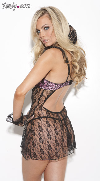 Lovely In Lace Babydoll Set