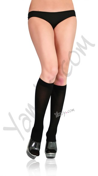 Opaque Knee High Stockings