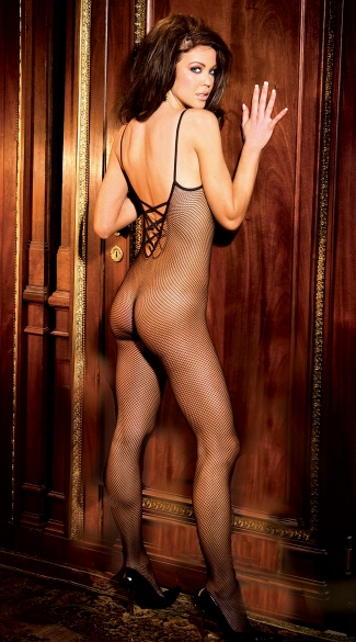 Criss Cross Back Bodystocking