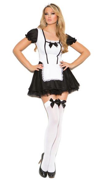 Mischievous Maid Costume, Sexy Maid Costume, French Maid Costume