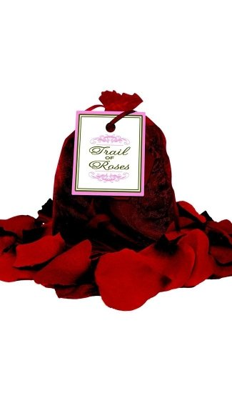 Bed of Rose Petals in Organza Bag, Artificial Rose Petals, Fabric Rose Petals
