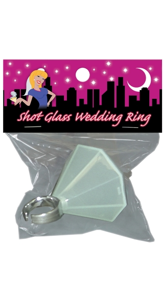 Diamond Ring Shot Glass