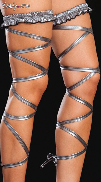 Metallic Leg Wrap