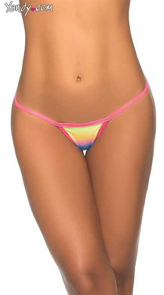 Classic Y-Back Thong, String Thong Panty, Y-Back G-String
