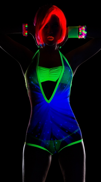 Neon Starlight Bodysuit
