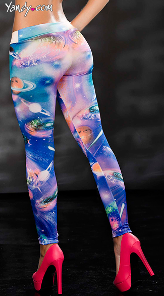 Galaxy Babe Pants