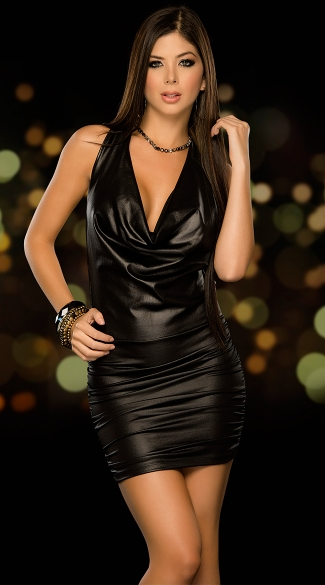Dance The Night Away Club Dress Strappy Back Club Dress