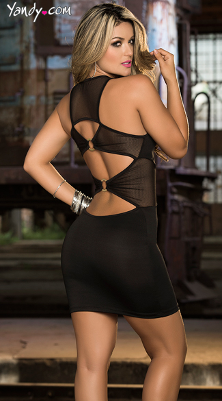 Sheer Seduction Club Dress