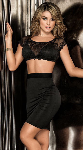 Double Dream Skirt Set, two piece dress - Yandy.com
