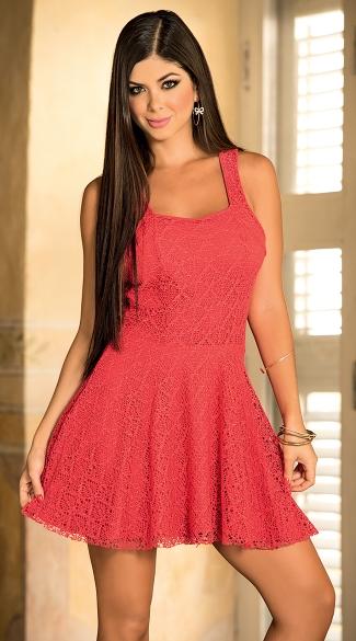 Lace Tank Dress, Summer Dresses For Women, Lace Mini Dress