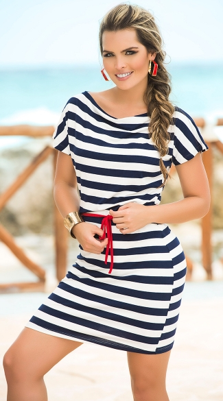 Nautical Love Dress