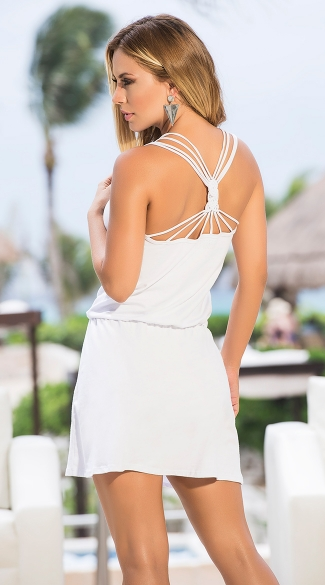 Strappy Back Summer Dress