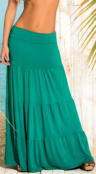 Exotic Breeze Maxi Skirt